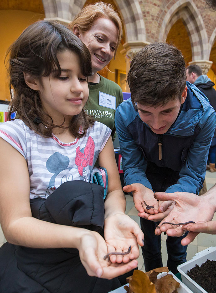 Earthworm Watch to celebrate Cumbria's natural history as part of British Science Week